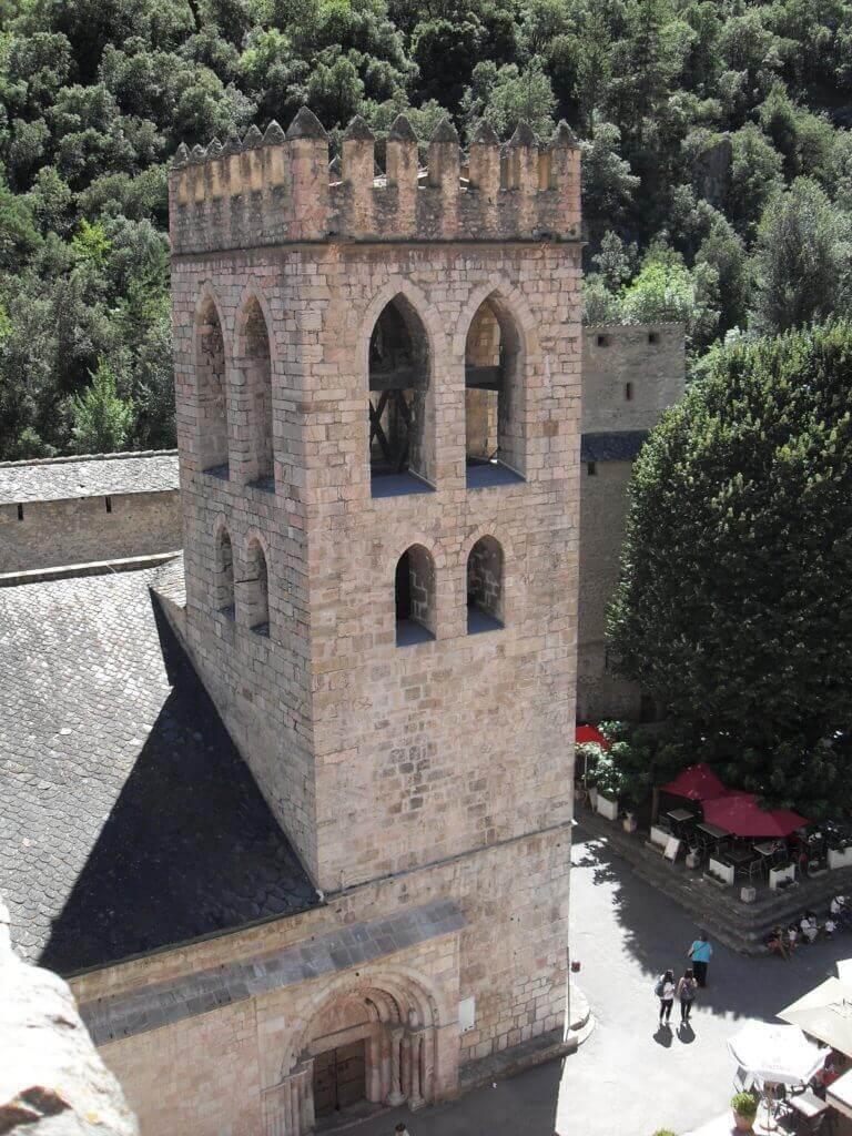 clocher du village villefranche de conflent