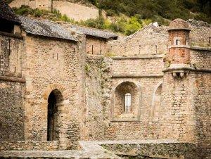 remparts de villefranche de conflent, Pyrénnées Orientales, Catalogne, Occitanie